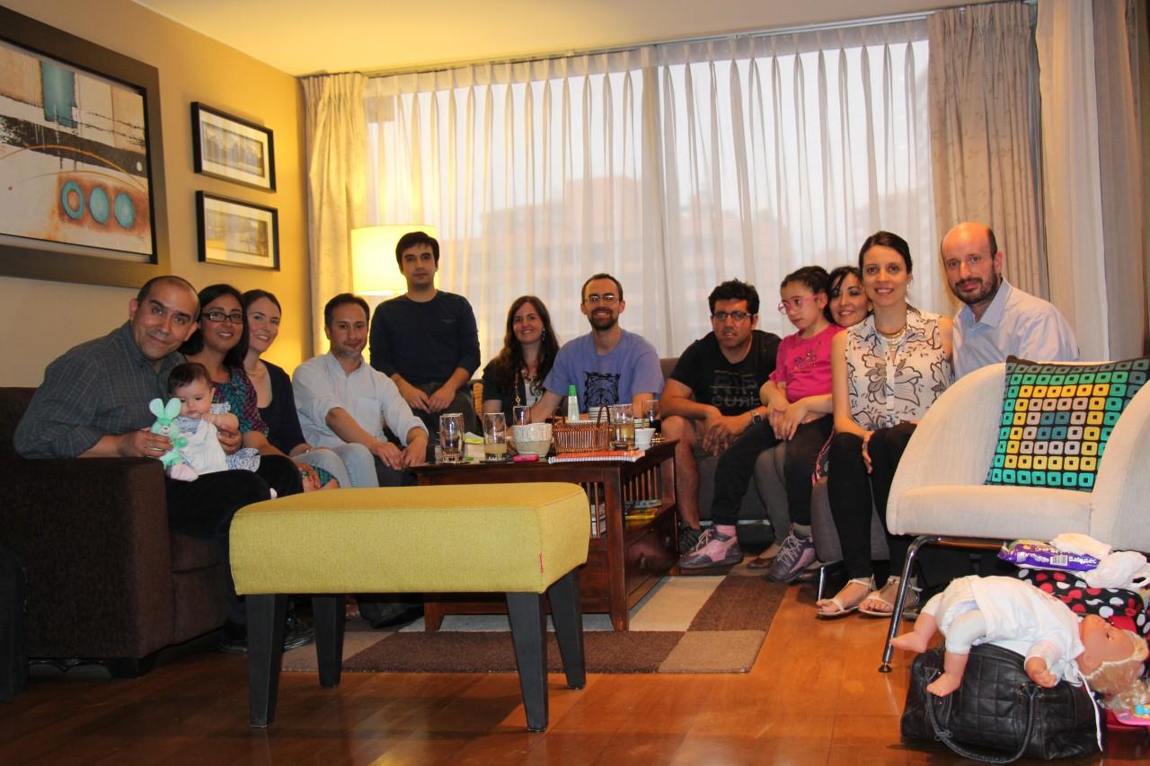 Nuestros grupos en casa en el tiempo…